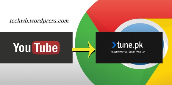 Access Youtube without any Proxy or software via tune pk chrome